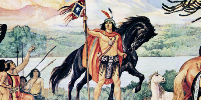 ~ Lautaro uno de los Grandes Héroes de la Epopeya Mapuche ~